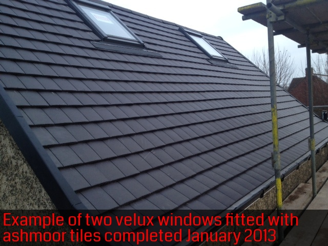 Velux roof window